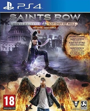 Saints Row IV Re-elected (PS4)